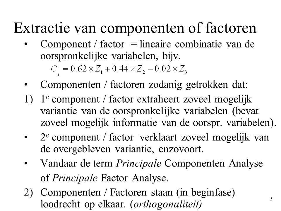 6 Geometrisch voorbeeld X3X3 X1X1 X2X2 Tacq (1991) p.