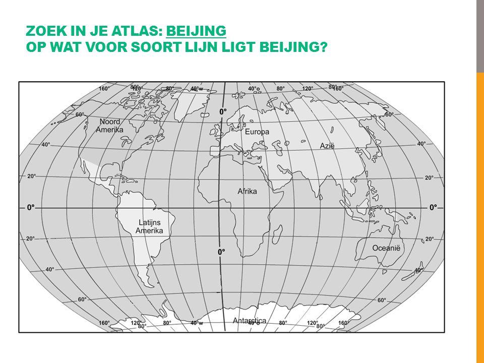 ZOEK IN JE ATLAS: BEIJING OP WAT VOOR SOORT LIJN LIGT BEIJING?