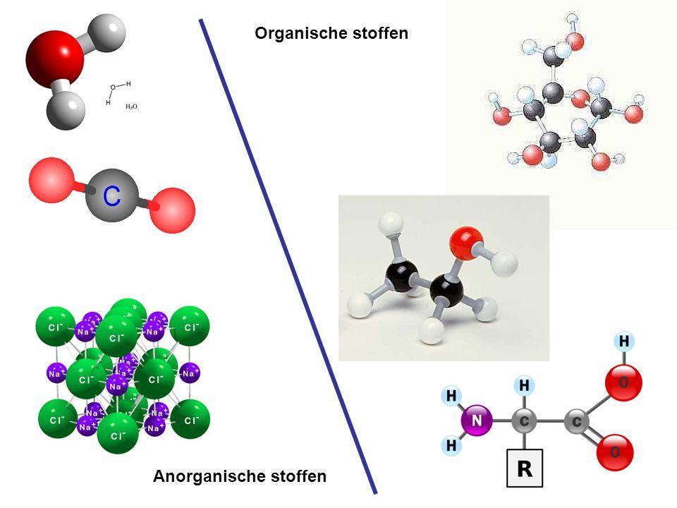 -Afkomstig van organismen -Grote ingewikkelde moleculen -Minimaal 2 C-atomen (daarnaast vooral H en O) -O.a.