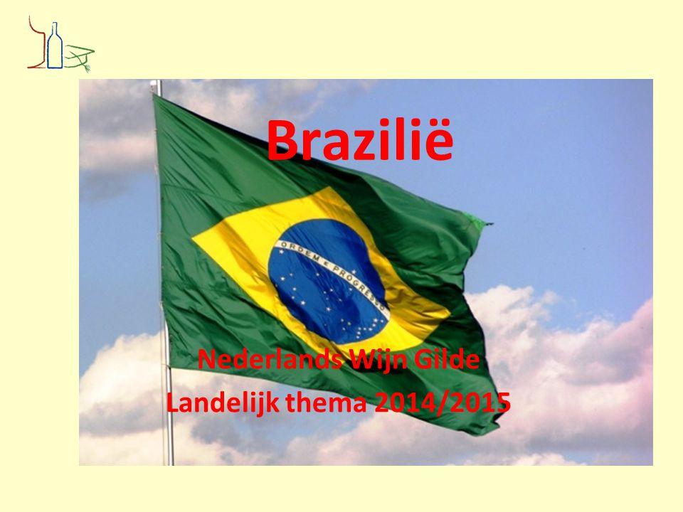 Brazilië Nederlands Wijn Gilde Landelijk thema 2014/2015