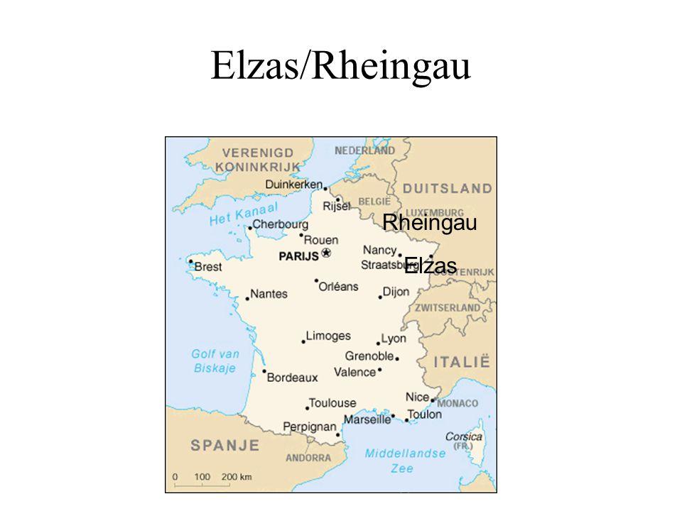 Elzas/Rheingau Rheingau Elzas