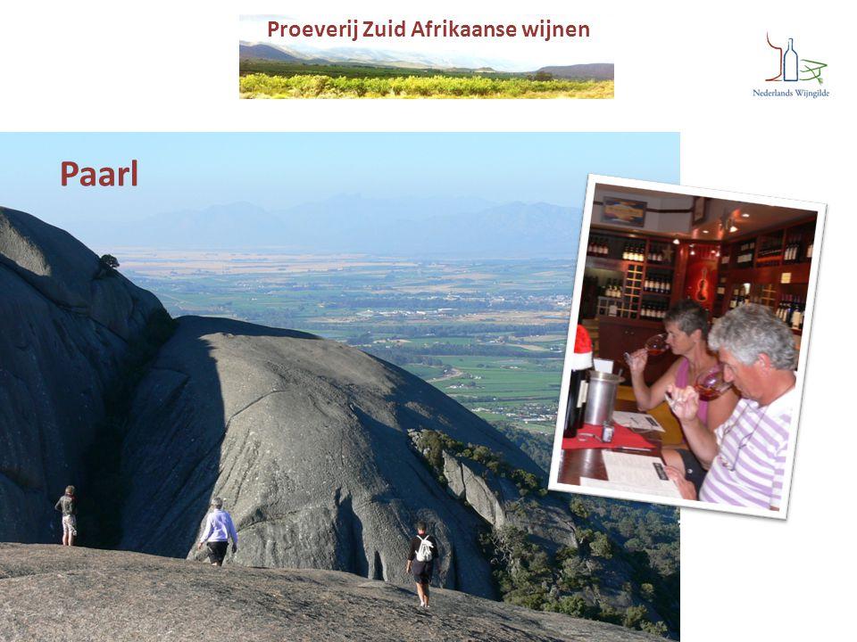Proeverij Zuid Afrikaanse wijnen Paarl