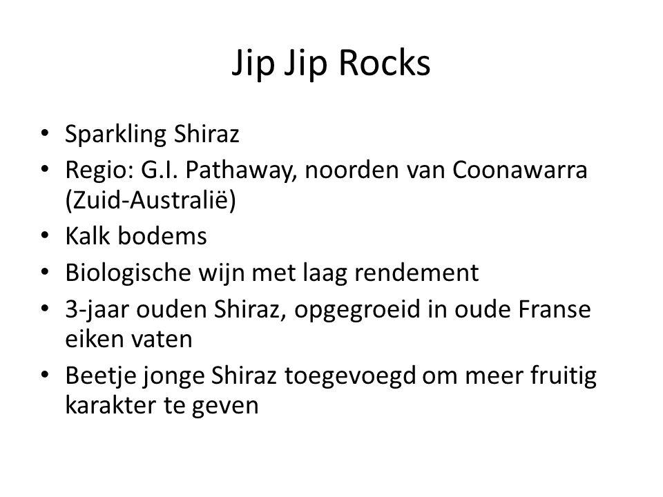 Jip Jip Rocks Sparkling Shiraz Regio: G.I.