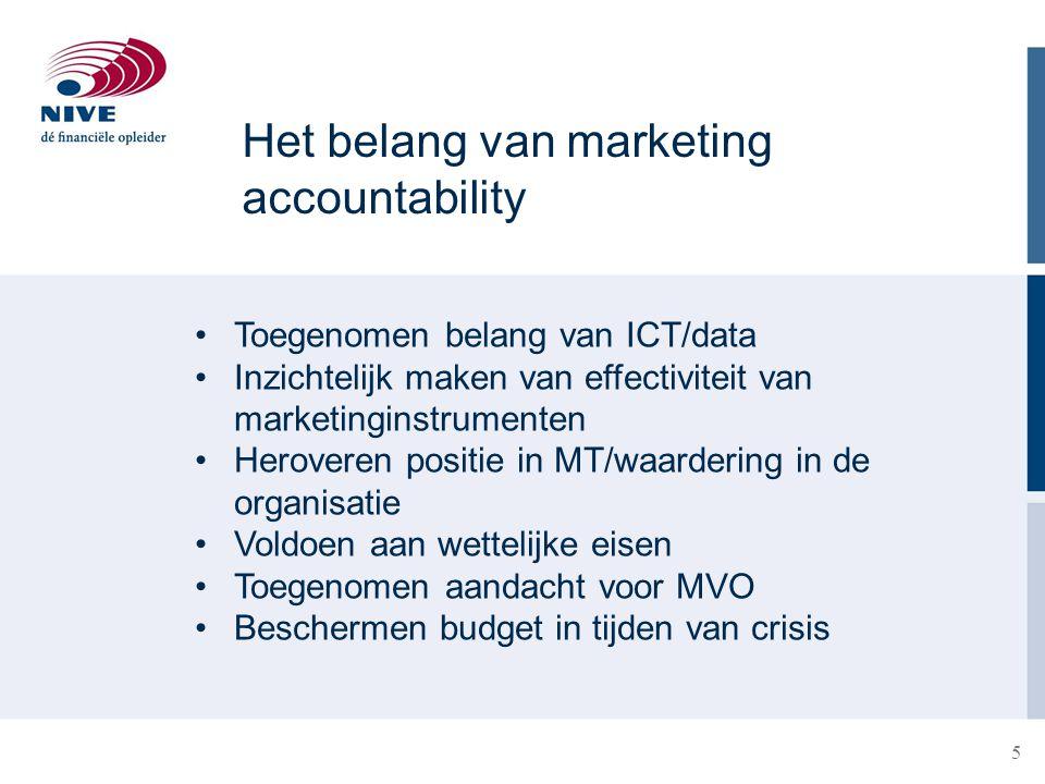 6 Marketing- en saleskosten Welke kostenposten kunnen aan marketing en sales toegerekend worden.