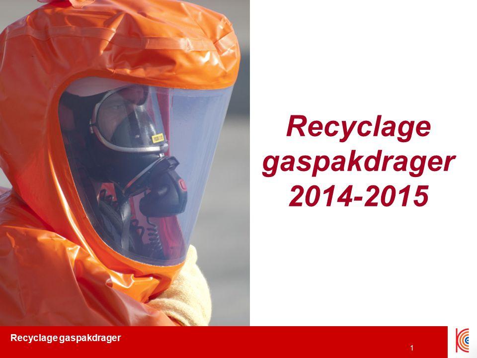 Recyclage gaspakdrager 2 Inhoud 1.Herkennen 2.Verschil gaspaktypes 3.Limieten 4.Vuistregels 5.Decontaminatie & nooddeco 6.Meten ifv inzetoefening 7.Afdichting ifv inzetoefening