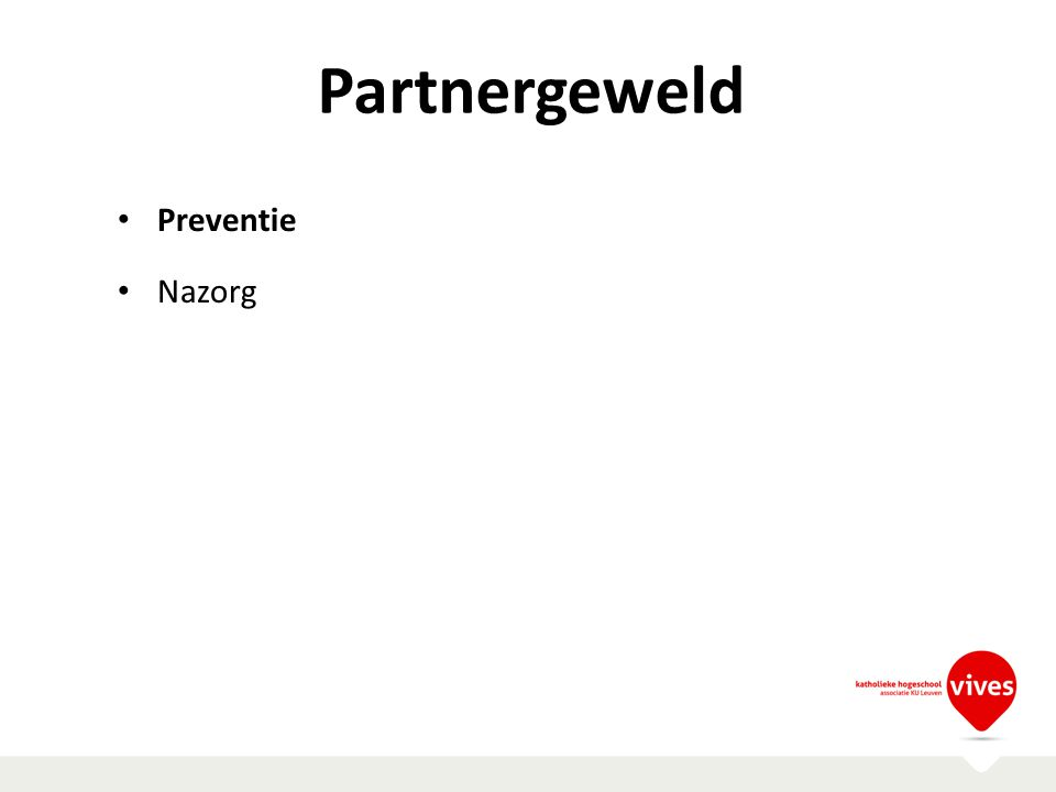 Partnergeweld Preventie Nazorg