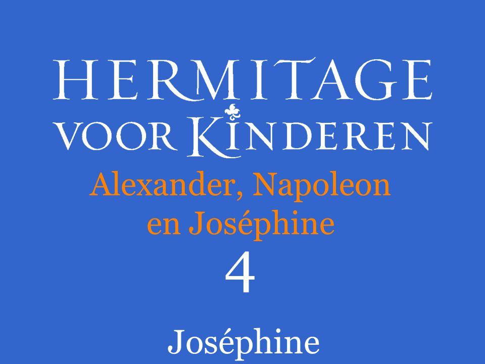 Joséphine gaf tsaar Alexander uit dankbaarheid een kostbaar cadeau.