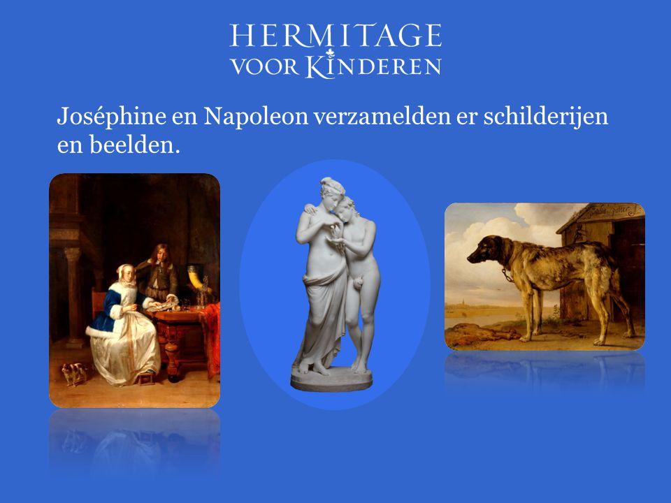 Joséphine en Napoleon verzamelden er schilderijen en beelden.