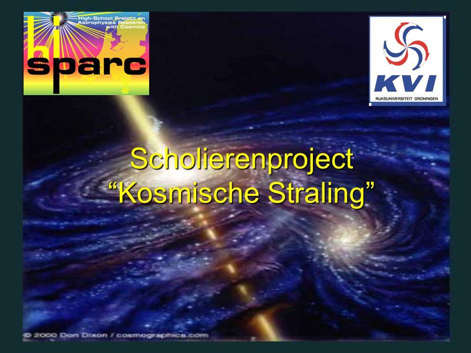 """Scholierenproject """"Kosmische Straling"""""""