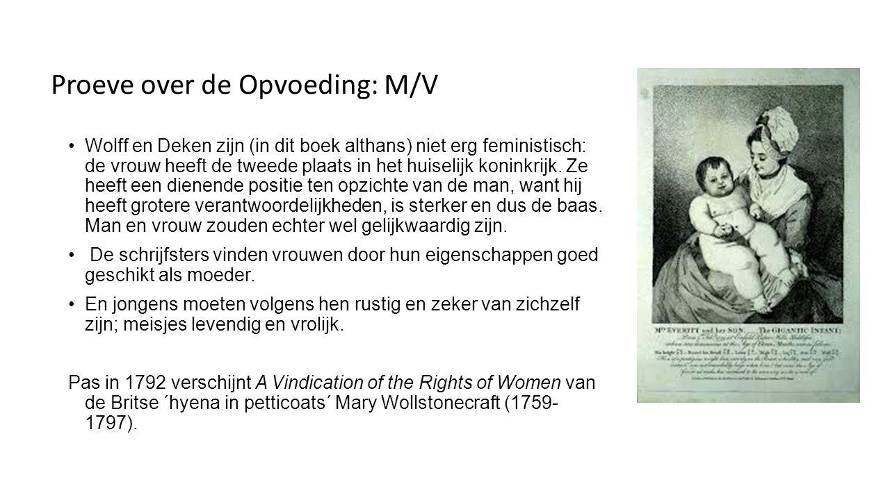 Invloeden op Wolff en Deken Ideeën van de Verlichting of Eeuw van de Rede (1680-1790).