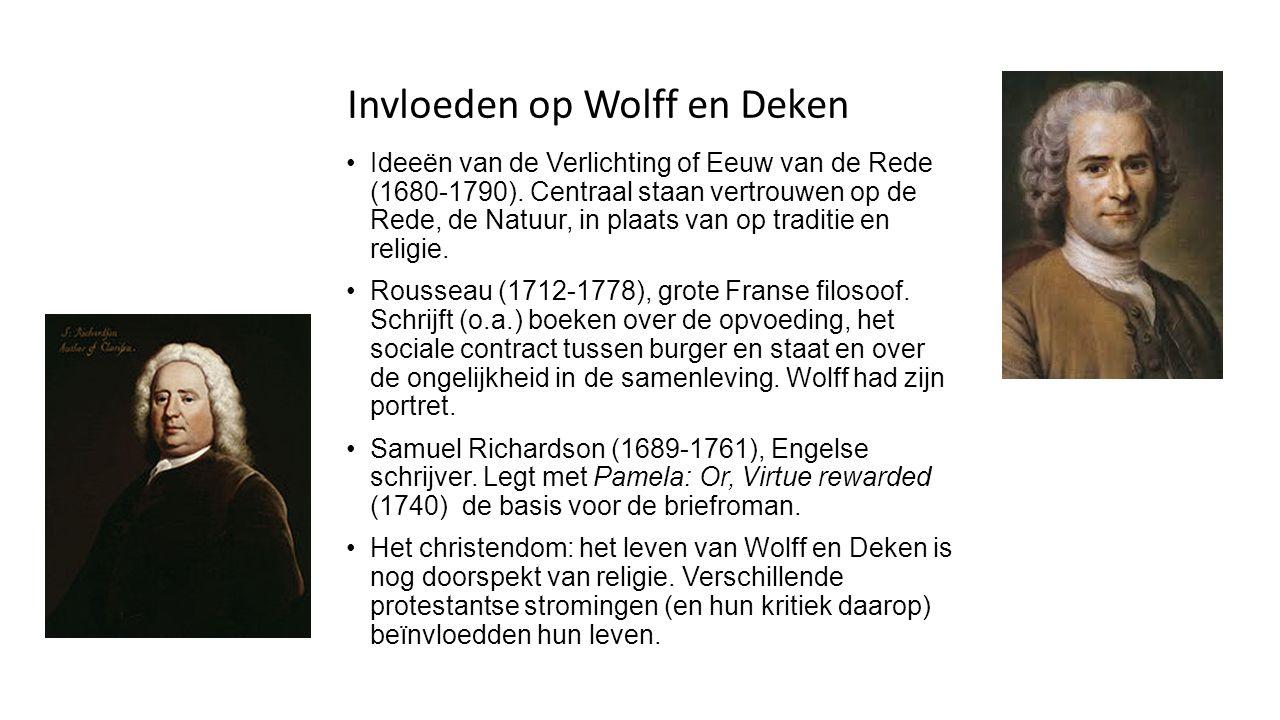 Beroemde Nederlandse tijdgenoten Belle van Zuylen (1740-1805), schrijfster en componiste.