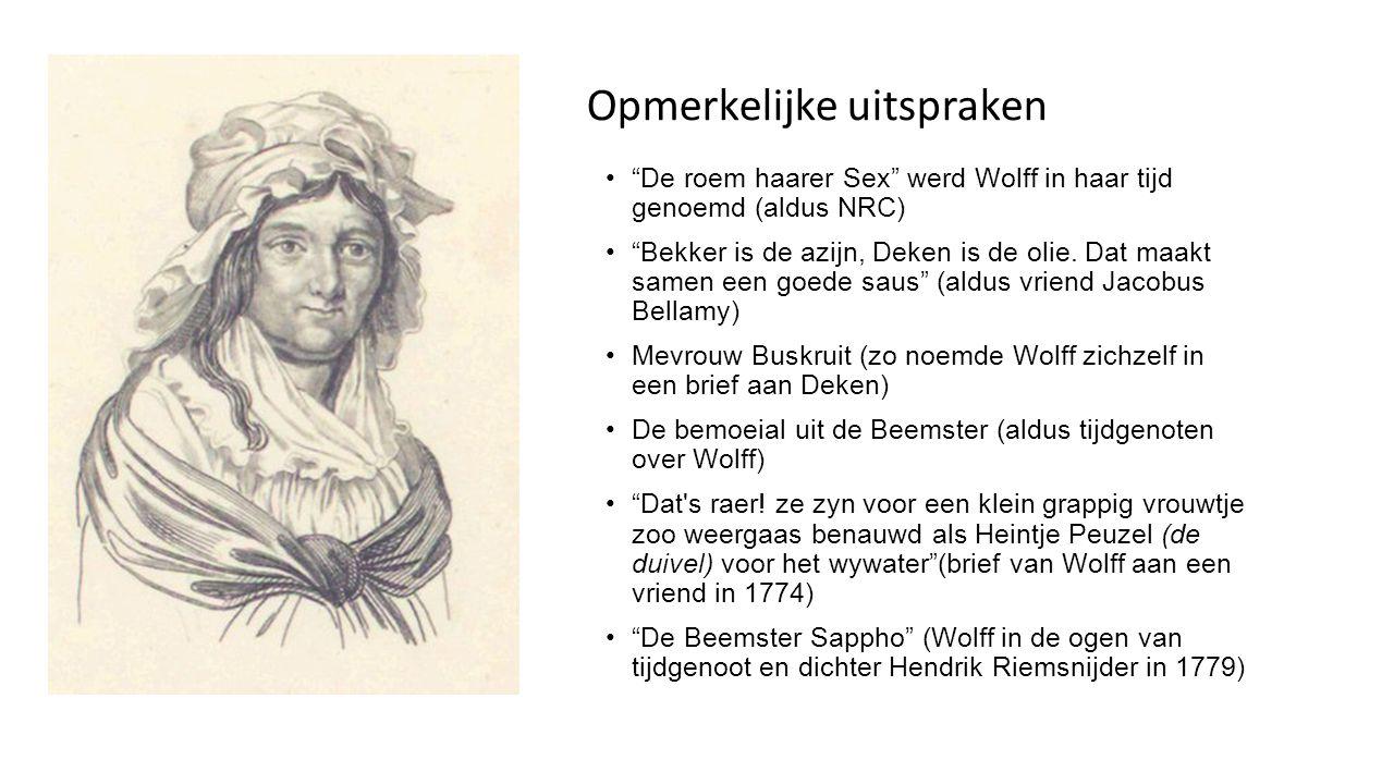 Voorloopsters moderne lesbische vrouw De zielsvriendin (Wolff en Deken) Vrouw in mannenkleren Lollepotten (die ´vuyle verrichtingen´ pleegden) Myriam Everard: in de 18 eeuw spelen ziel en zinnen een rol in plaats van psyche en seksualiteit, dus je kunt niet spreken van een lesbische relatie.
