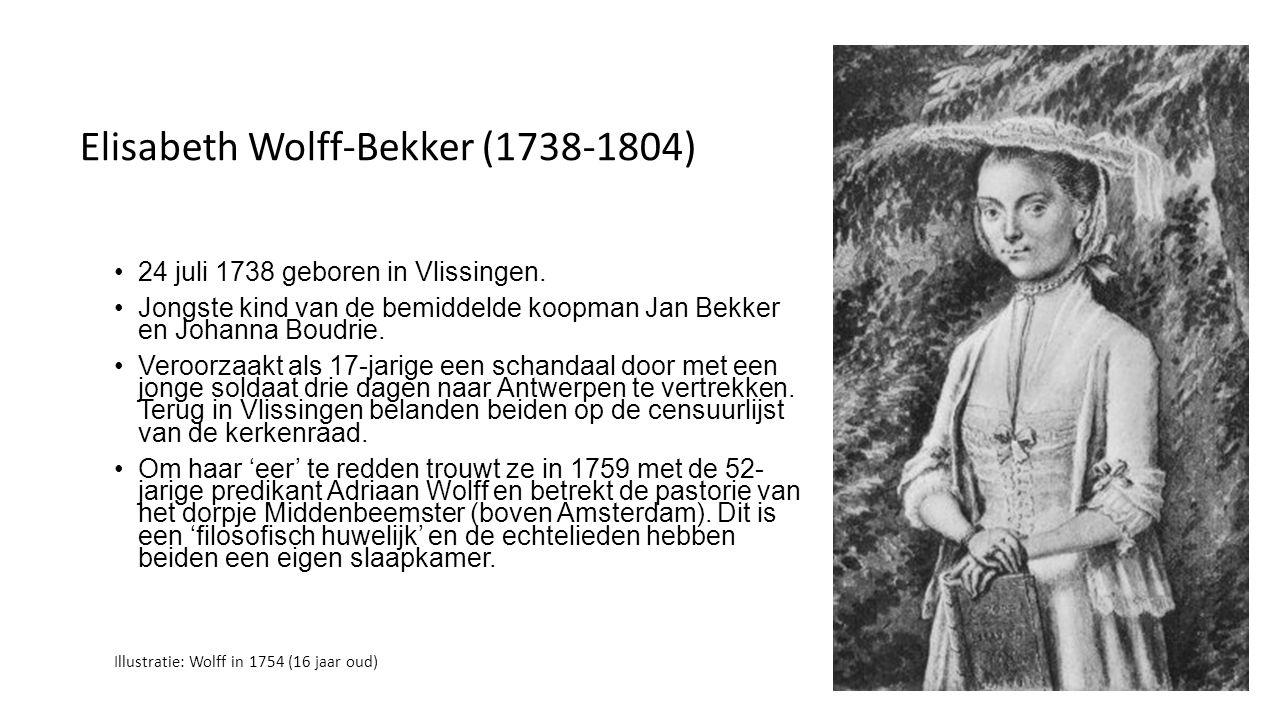 Agatha Pieterszoon Deken (1741-1804) Wordt in 1741 geboren in Nes aan de Amstel (dichtbij Amsterdam).