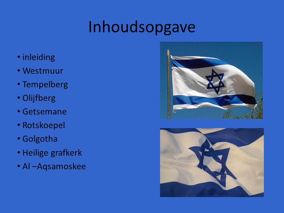 Inleiding Al eeuwen staat Jeruzalem in het middelpunt van religies.