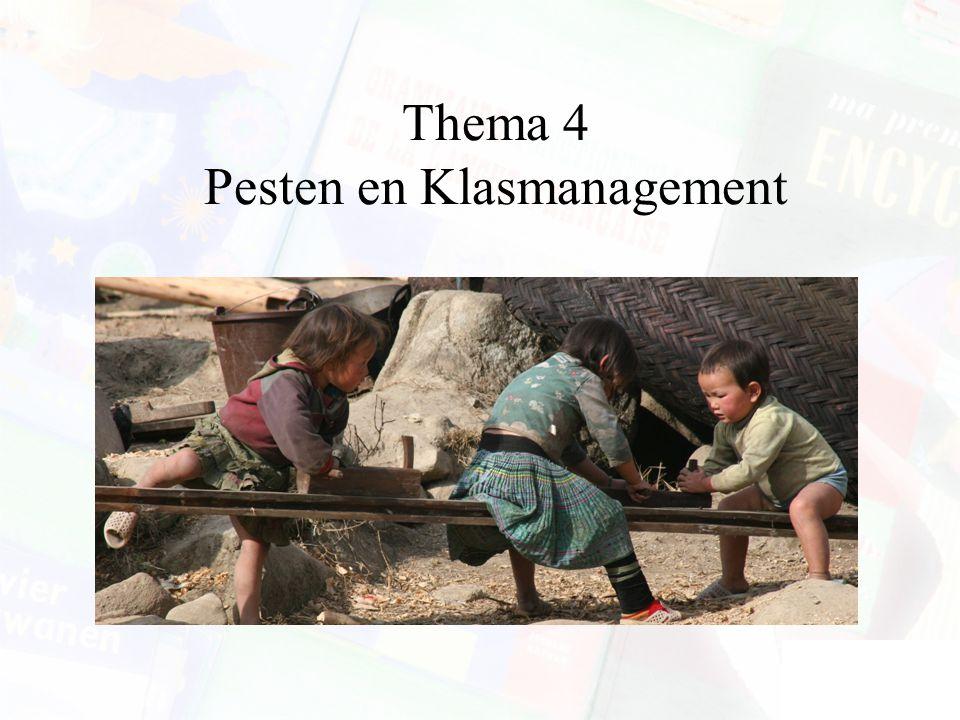 Thema 4 Pesten en Klasmanagement