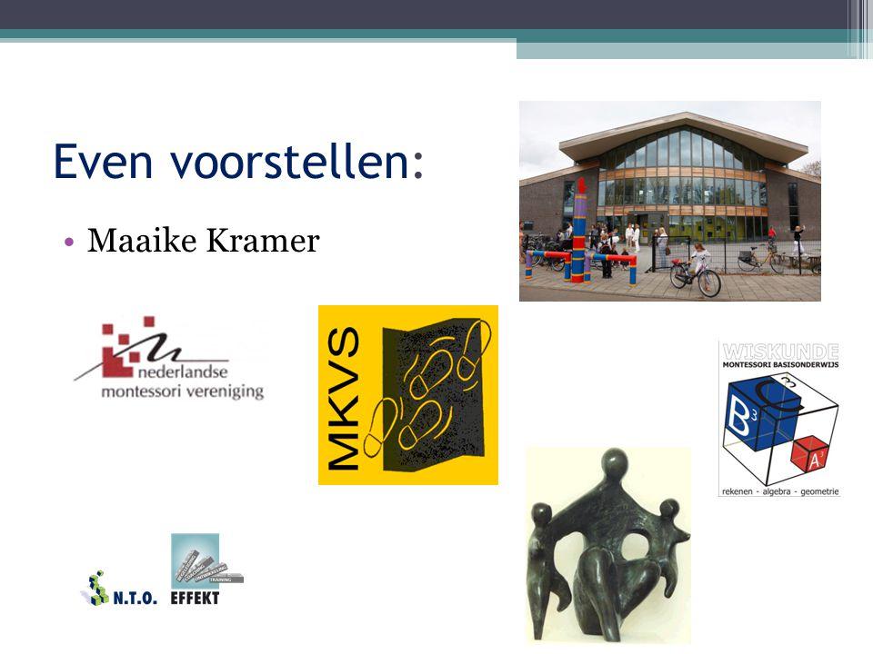 Even voorstellen: Maaike Kramer