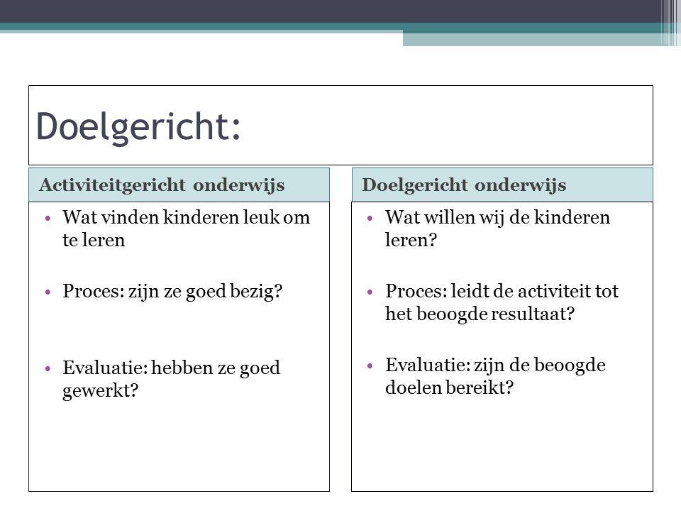 Handelingsgericht werken waarnemen begrijpenplannen uitvoeren 1) Signaleren en noteren 2.