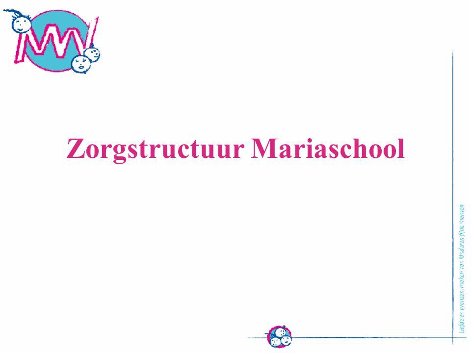 Zorgstructuur Mariaschool