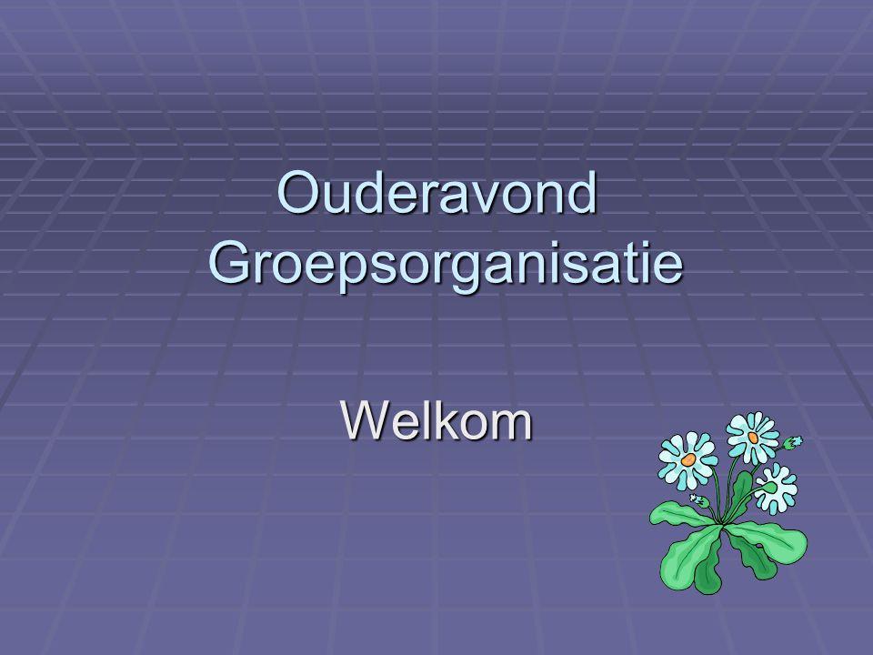 Ouderavonden  Maandag 20 juni:  Visie  Formatie en groepsorganisatie  Donderdag 30 juni:  Organisatie in de praktijk