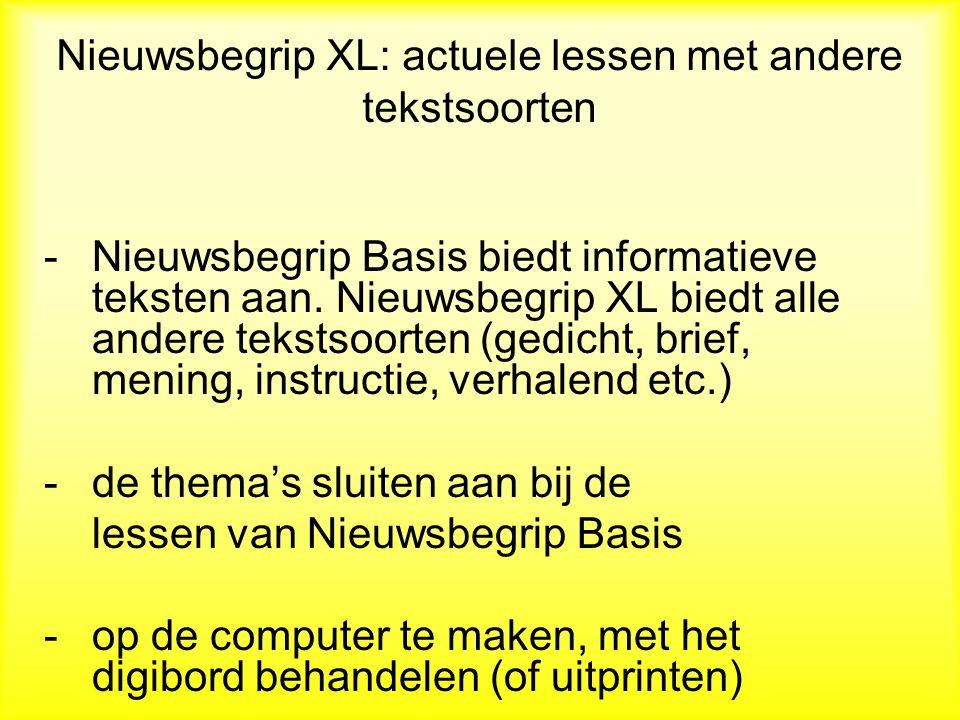 Effecten Nieuwsbegrip Vernooy en Mijs (2009): VMBO leerlingen gingen op de Cito VAS vooruit; Egbertsen (2009): Cluster IV leerlingen gingen in een maand een AVI- beheersingsniveau vooruit en meerdere instructieniveaus.