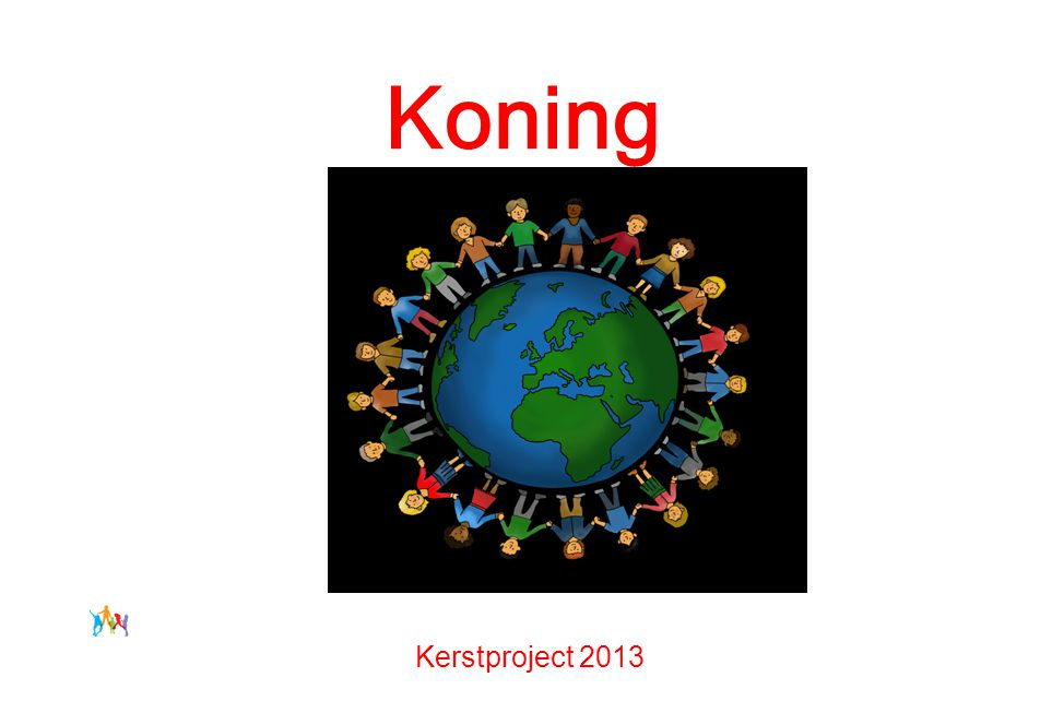 God geeft een nieuwe Koning Kerstproject 2013