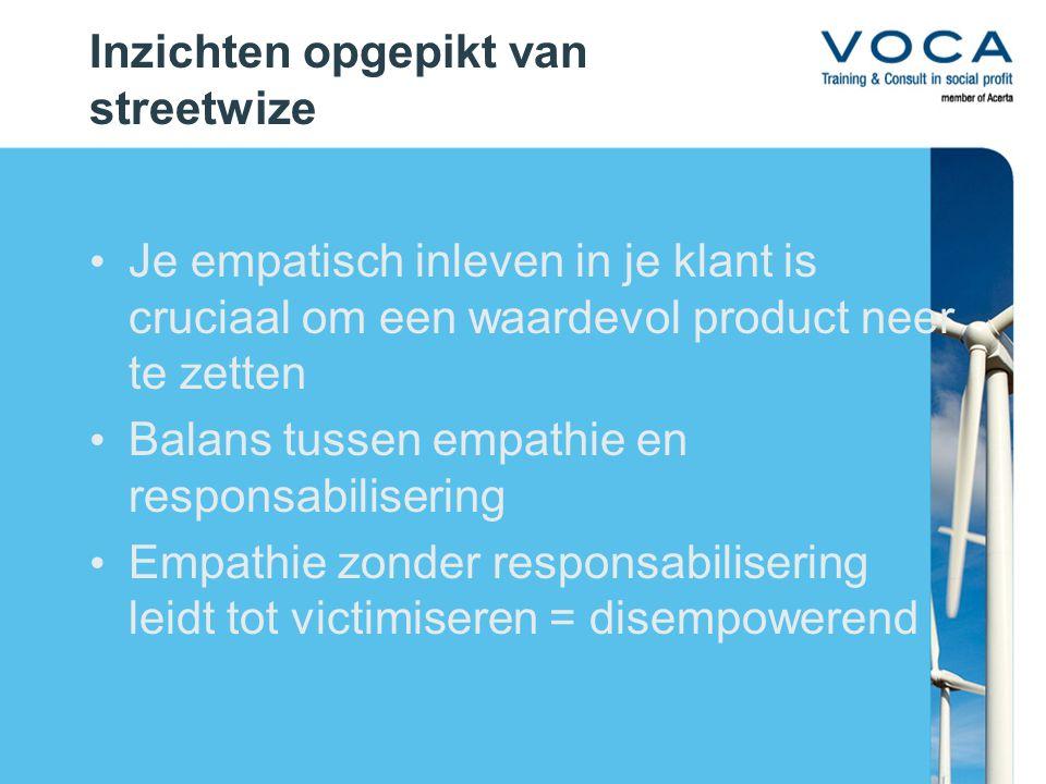 4 streetskills Positieve focus Veerkracht en wendbaarheid Proactieve creativiteit Coöperatieve competitie