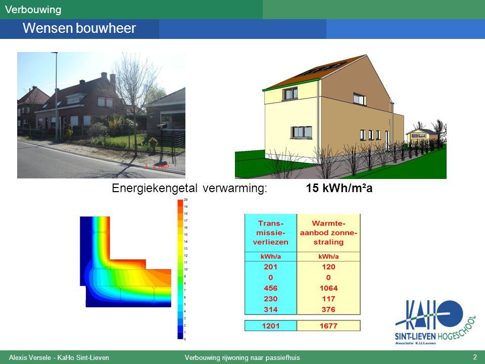 Verbouwing rijwoning naar passiefhuisAlexis Versele - KaHo Sint-Lieven 23 1.