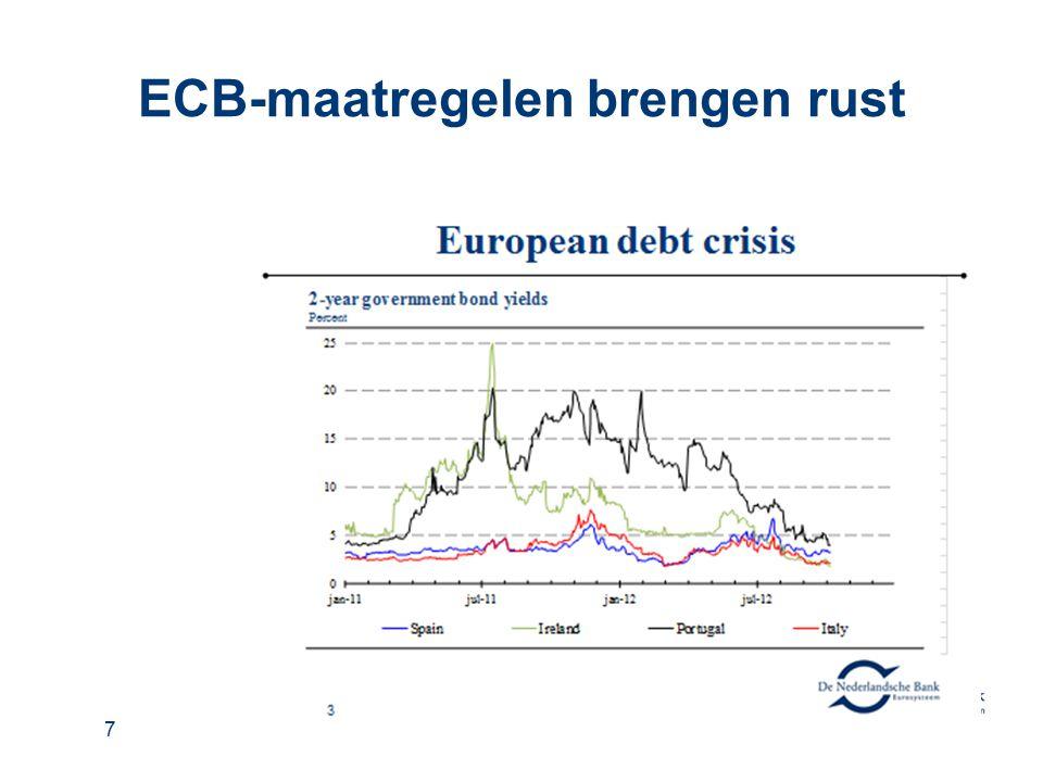 ECB-maatregelen brengen rust 7