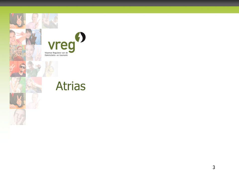 Vlaamse Regulator van de Elektriciteits- en Gasmarkt 3 Atrias