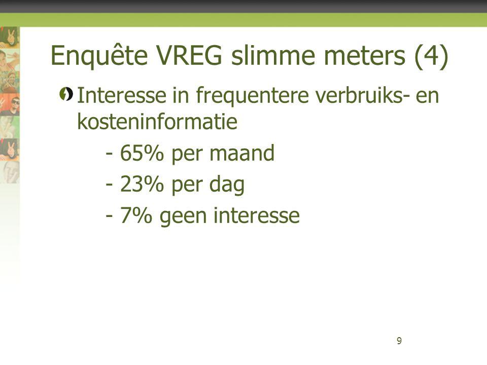 Slimme meters - Duitsland Slimme meter moet gezien worden als een onderdeel van « smart markets » Een vereiste voor « smart markets » is dat de afnemer de meter effectief moet gaan gebruiken om voordeel te halen uit nieuwe producten/tarieven en diensten.