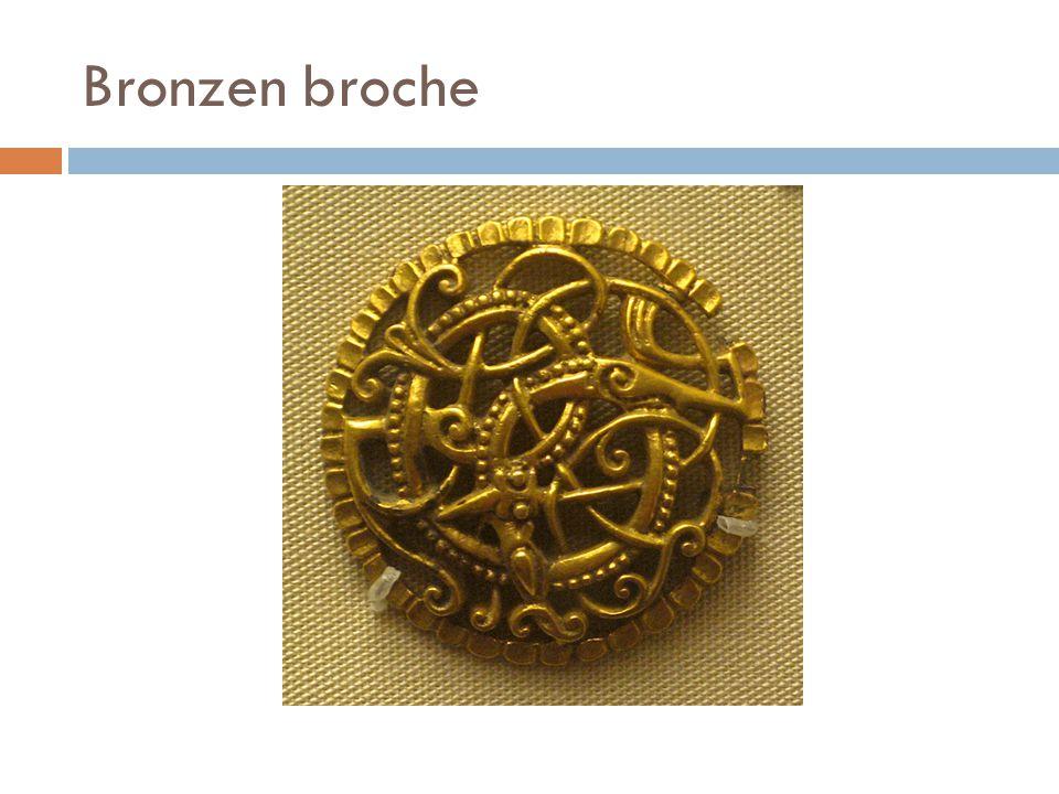 Bronzen broche