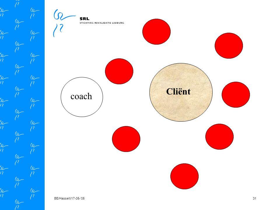 BE/Hasselt/17-05- 0530 Cliënt coach