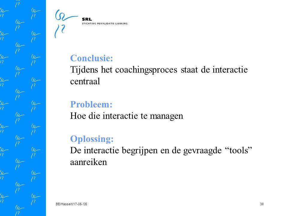 BE/Hasselt/17-05- 0537 Cliënt coach