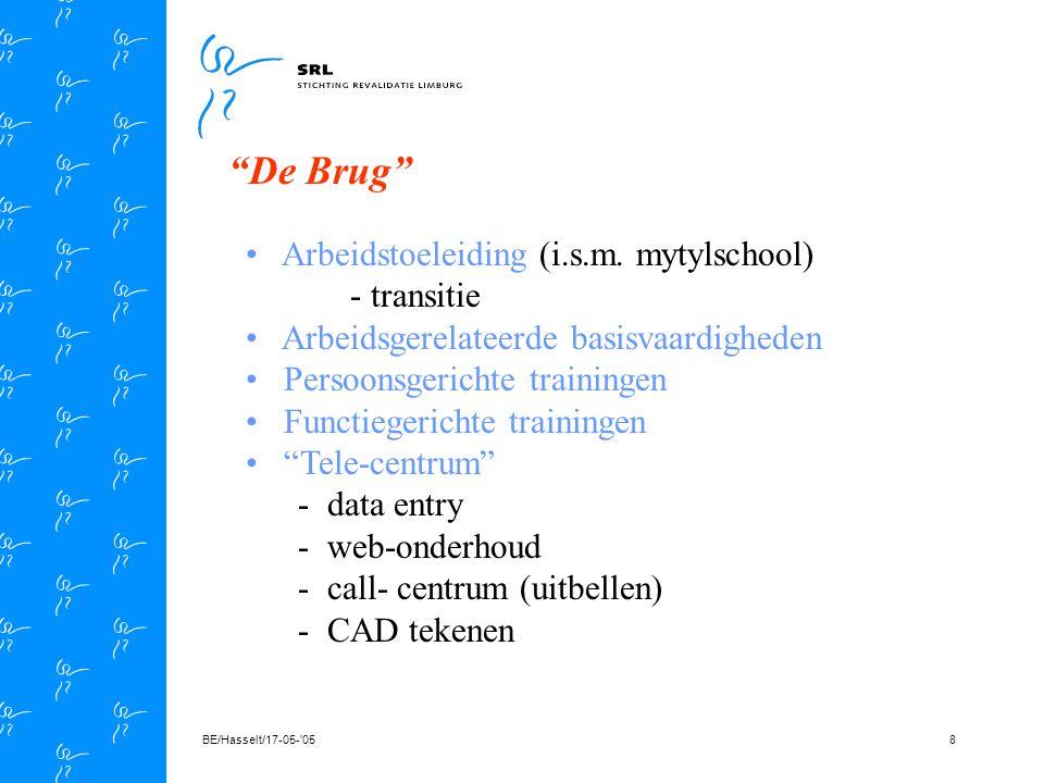 BE/Hasselt/17-05- 0548 V r ij B a a n V r ij B a a n EQA/2001/0026/ Profiel E Q U A L