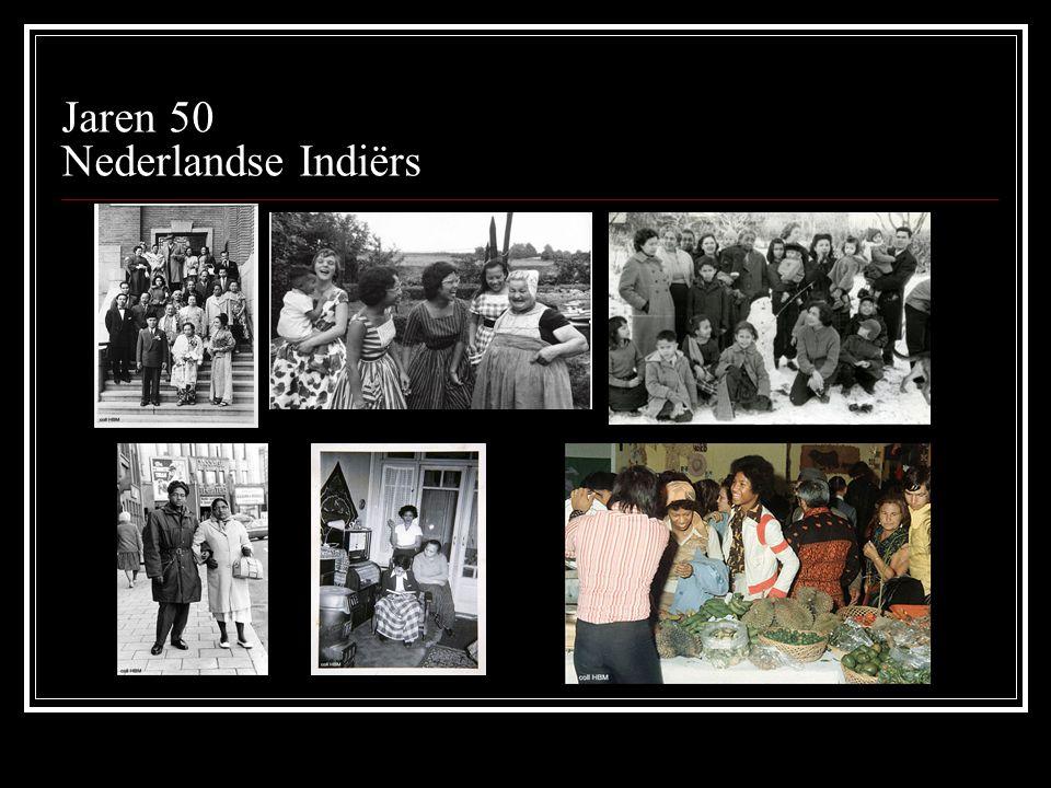 Jaren 50 Nederlandse Indiërs