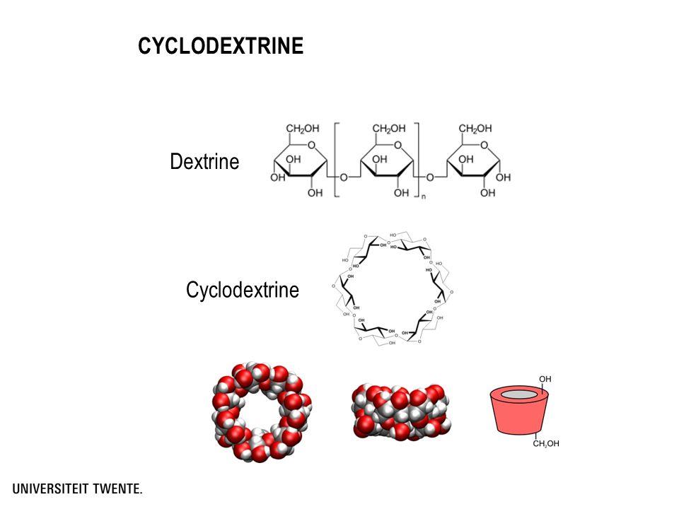 CYCLODEXTRINE Dextrine Cyclodextrine