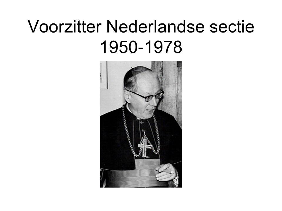 Voorzitter Nederlandse sectie 1950-1978