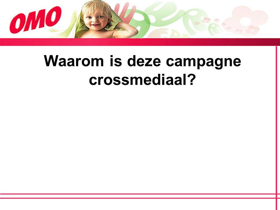 Waarom is deze campagne crossmediaal?