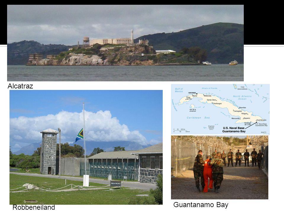 Guantanamo Bay Alcatraz Robbeneiland