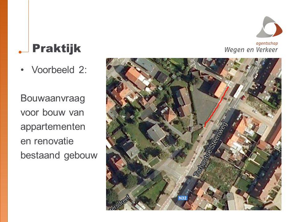 Praktijk Voorbeeld 2: Bouwaanvraag voor bouw van appartementen en renovatie bestaand gebouw