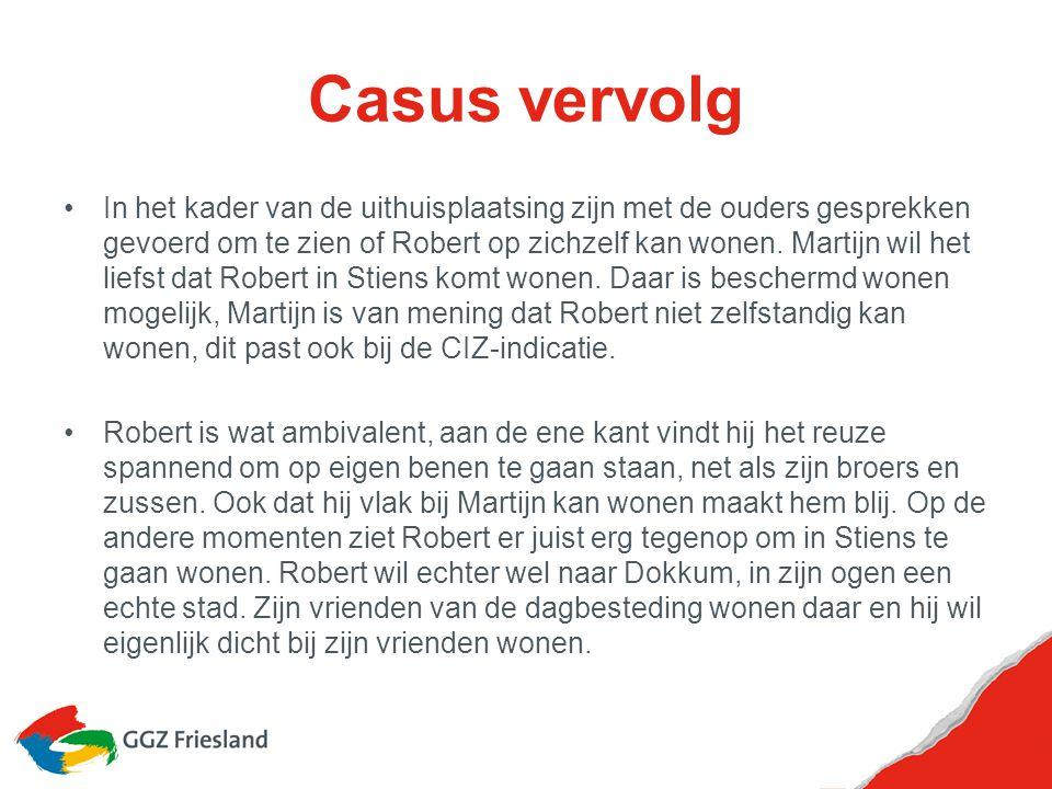 Vragen bij de casus Hoe zijn de ouders en later Martijn mentor en bewindvoerder geworden.