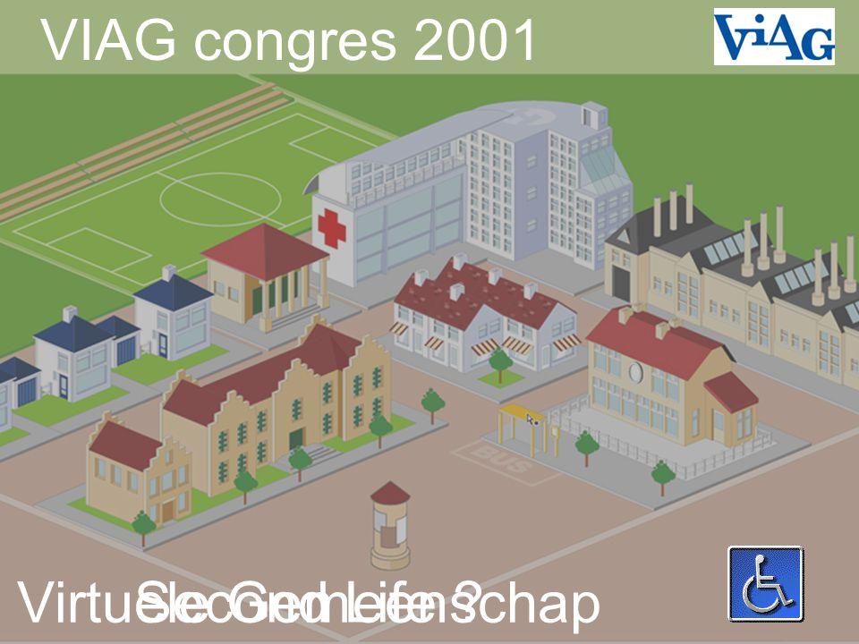 VIAG congres 2001 Virtuele Gemeenschap Second Life
