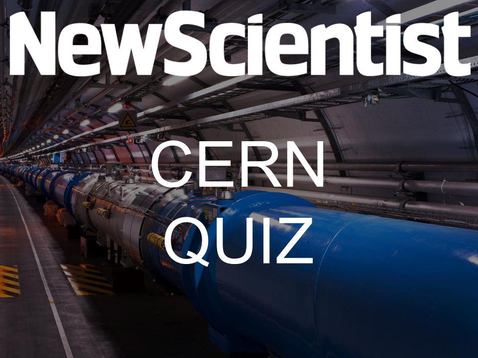 Vraag 1 In 1984 werd de Nobelprijs voor de Natuurkunde uitgereikt aan onderzoekers van CERN.