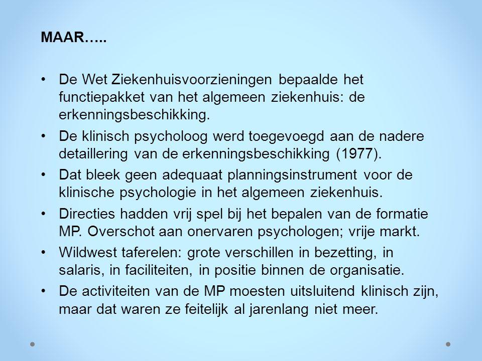 Wat meer structuur: 1978: de eerste CAO Ziekenhuizen.