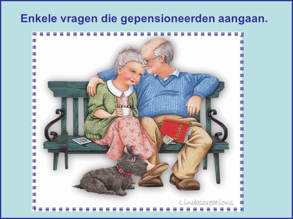 Aan alle gepensioneerden en aan hen die het spoedig worden... Klikken