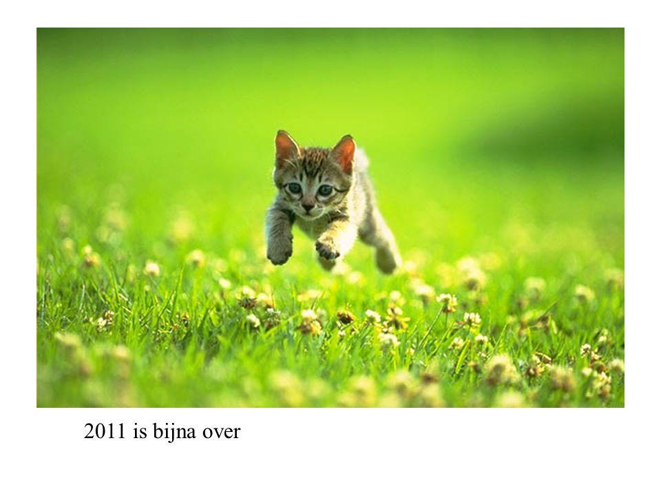 Nu maken we ons op om 2012 in te gaan