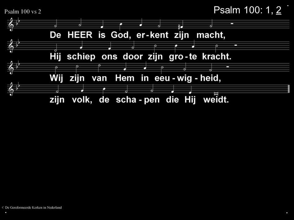 ... Gezang 110: 1, 2, 3, 4, 5 (NG 57)