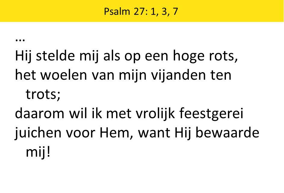 Psalm 138: 2, 3, 4 2 Ten dage dat ik riep hebt Gij gehoord naar mij en kracht gegeven.