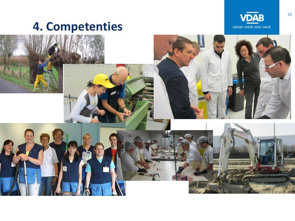 4. Competenties 26