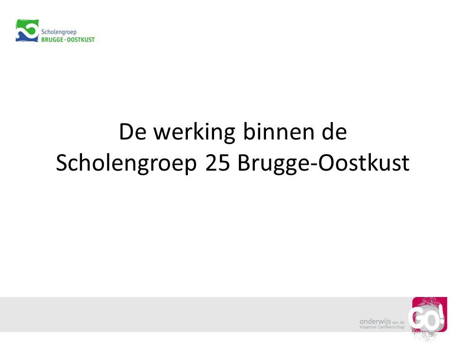 De werking binnen de Scholengroep 25 Brugge-Oostkust